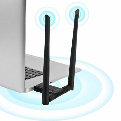 1200Mbps Wireless Long Range AC1200 Dual Band 5GHz USB 3.0 Wi-Fi Adapter...