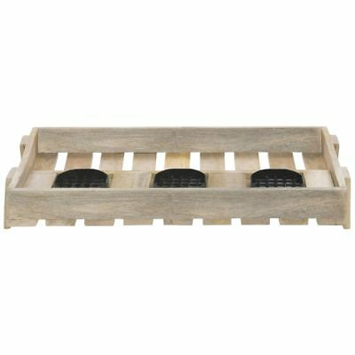Airpot Holder For 3 Thermal Airpot Coffee Dispensers Mango Wood - 24l X 13