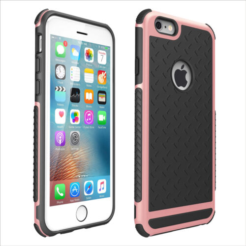 Protective Rubber Shockproof Hard Case Thin Cover For iPhone 6/6s/7/7P/8 8 Plus