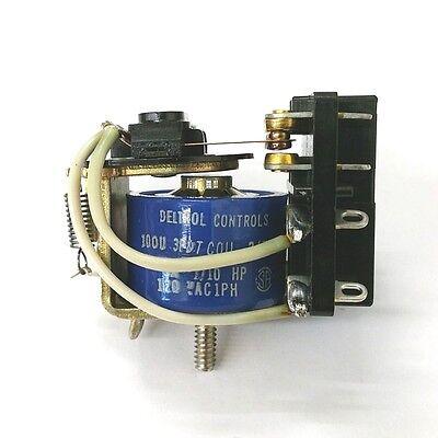 New Deltrol 20071-82 24 Volt Dc Coil 5 Amp 100u 3pdt General Purpose Relay