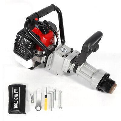 32.6cc 2-Stroke Petrol Post Driver Pile Star Picket Rammer Fence Farm Tool Kit