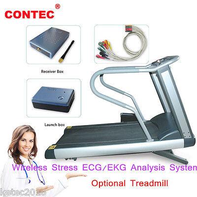 Contec8000s Wireless Stress Ecgekg Analysis System Exercise Stress Ecg Test