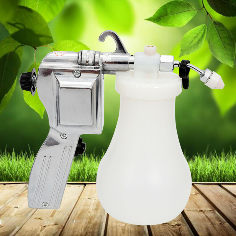 60W Electric Cleaning Spray Gun Textile Spot Cleaner Pressure Nozzle Set 110V