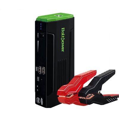 Jump Start Kit Lightweight Car Battery Jump Starter Smart Cable USB Power Bank 12V