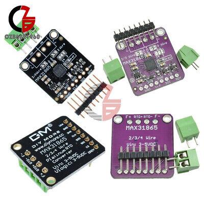Max31865 Pt100 Rtd Amplifier Temperature Thermocouple Digital Sensor For Arduino
