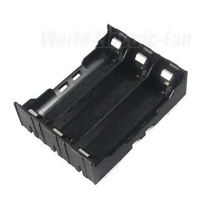 1 PCS Hold Three (3) Li-ion 18650 DIY Battery Holder Case With 6 Pins Contact