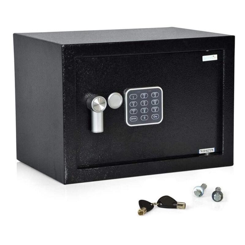 SereneLife SLSFE12 Fireproof Electronic Digital Combination Safe Box with Keys