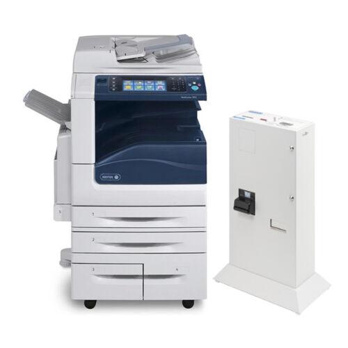 Xerox Workcentre 7845 Color Laser Copier Printer Scanner Jamex Bill Coin Changer
