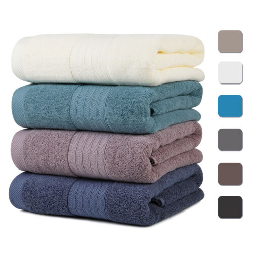 Ultra Soft Plush Egyptian Cotton Bath Towels Luxury Large Ba
