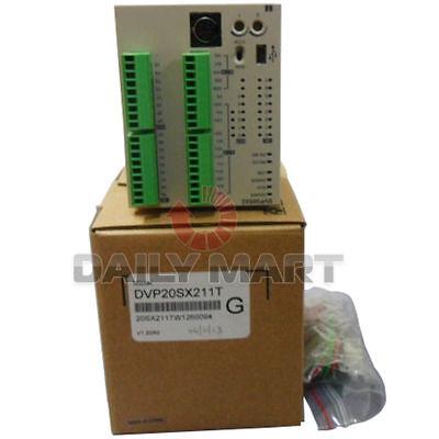 New In Box Delta Plc Dvp20sx211t 8di 6do Npn Transistor 4ai 2ao