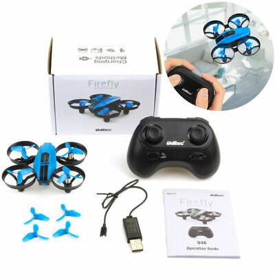 UDI U46 RC Drone Mini Altitude Remain 2.4Ghz Quadcopter for Kids Blue
