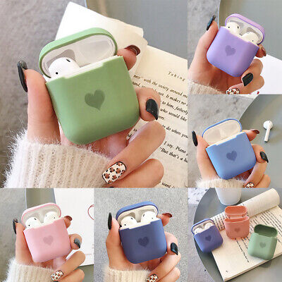 Silicone Case For Apple AirPods 1/2 Protective Skin Cover Earphone Charger Cases