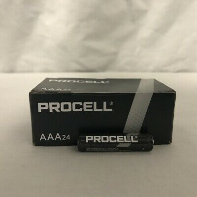 24 New AAA Procell Alkaline Batteries by Duracell PC2400 EXP 2026 or Later