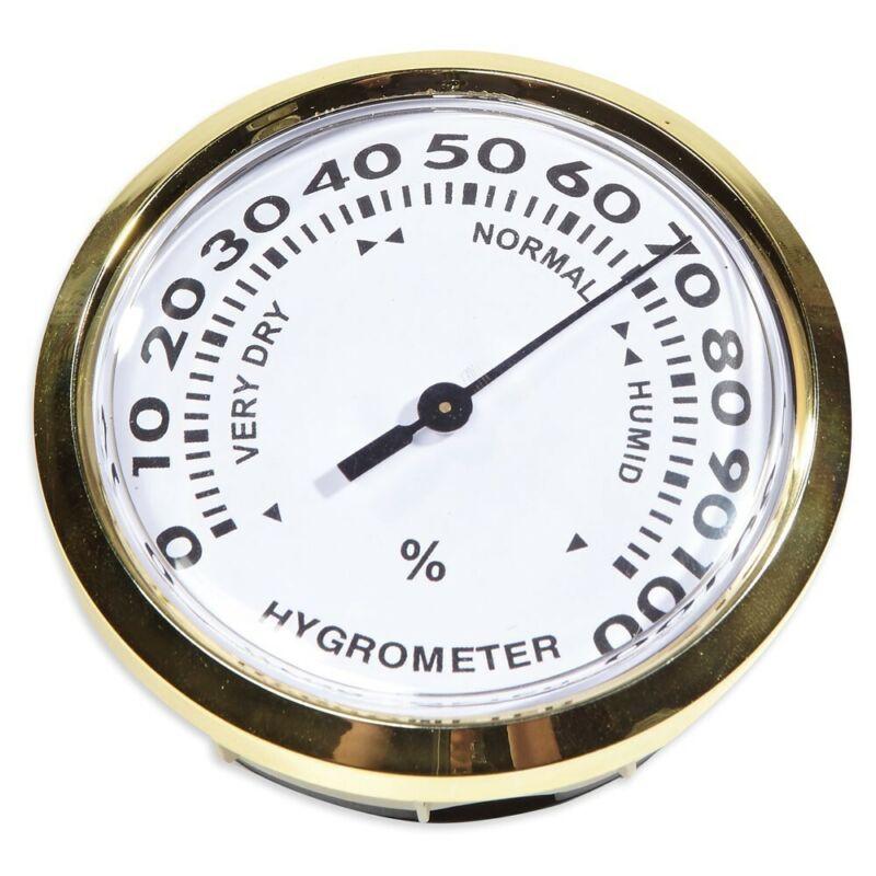 """Large Analog Hygrometer - Adjustable - 3"""" Wide"""