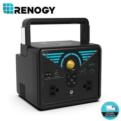 Renogy PHOENIX 100 300 Portable Pure Sine Wave Station W/ Quick Charge USB Power