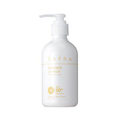 RAFRA Essence UV Milk 180g SPF50+ PA++++ Skin care Sunscreen moisture Japan
