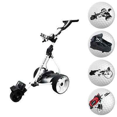 Electric Golf Trolley From Pro Rider - Inc. 36 Hole Battery & Charger