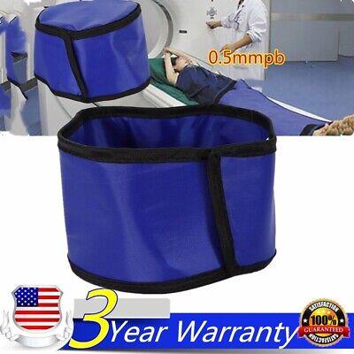 X-ray Shield Head Protection Soft Lead Cap Radiation Safety Blue 0.5mmpb Usa