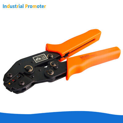 Sn-02c Crimper Plier Crimping Tool 0.25-2.5mm 24-4 Awg For Insulated Terminal