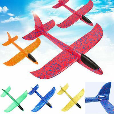 Light EPP Foam Hand Throw 48cm Airplane Outdoor Launch Glider Plane Kids Toy BE