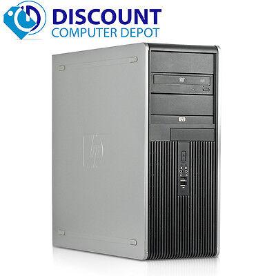 Fast HP Desktop Computer Tower PC Core 2 Duo 2.13GHz 4GB Windows 10 DVD