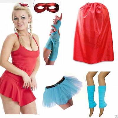 New Ladies American Dream Avengers Captain America Fancy Dress Tutu Mask Costume](Captain America Tutu Costume)