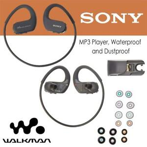 Used Sony 4 GB Walkman Sports MP3 Player, Waterproof and Dustproof, Black - Retail Packaging - SNY-90435 Condtion: Us...
