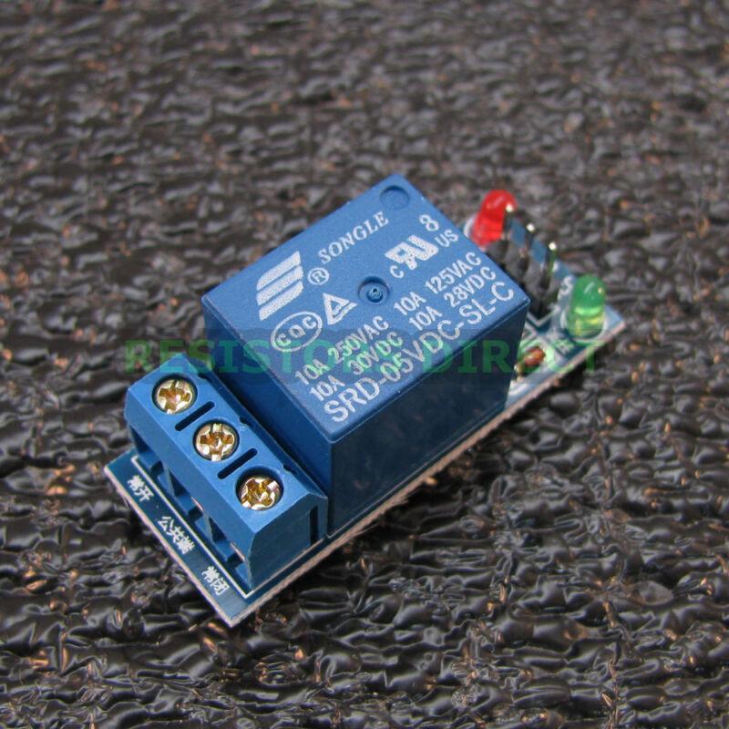 1 Channel DC 5V Relay Switch Module for Arduino Raspberry Pi ARM AVR NEW USA U75