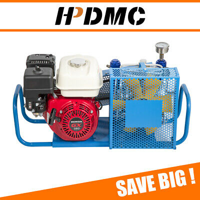 5.5hp Gas Powered Air Compressor 4500psi For Honda Gasoline Scuba Tank Refill