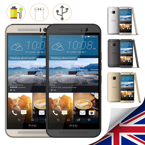 Android Phone - Factory Unlocked HTC One M9 New & Sealed Smart Mobile Android Phone 1yr Warrnty