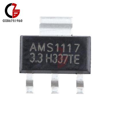 50pcs Ams1117 Lm1117 5v 1a Sot-223 Voltage Regulator