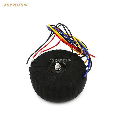 500w Black Cloth Ofc Toroid Transformer For Nap200 Power Amplifier 28v-0-28v2