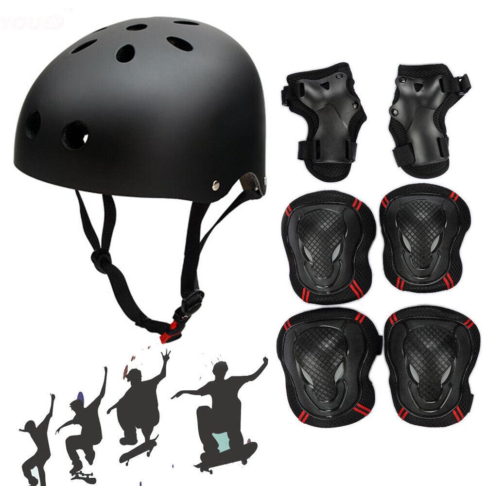 Womens Mens Kids Adjustable Sport Skate Helmet Bike Protecti