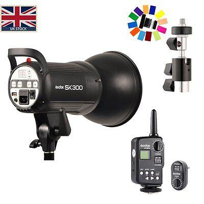 UK Godox SK 300W PHOTO Studio Flash Strobe Light + FT-16 Wireless Trigger Kit