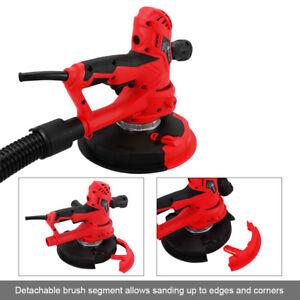 Drywall Sander 1000W Dust Free w/ Automatic Vacuum System LED Plaster Ceilings