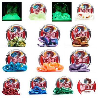 Intelligente Knete ORIGINAL AUS USA Super Spezial-Farben LEUCHTEND Edelsteine