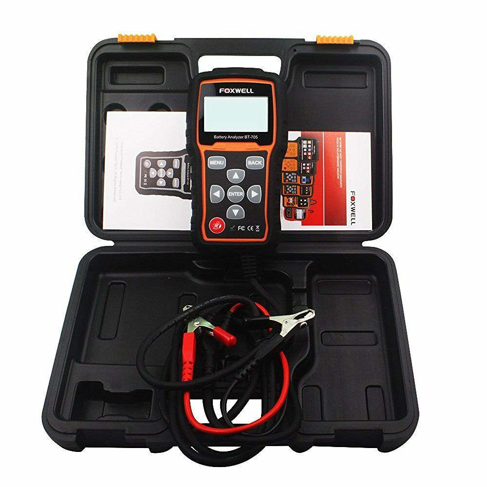 24 Volt Battery Load Tester : Foxwell bt car battery load tester charging system