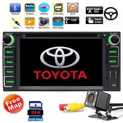 GPS For Toyota Corolla Camry Pardo Car DVD Player Radio Stereo Navigation BT+Cam