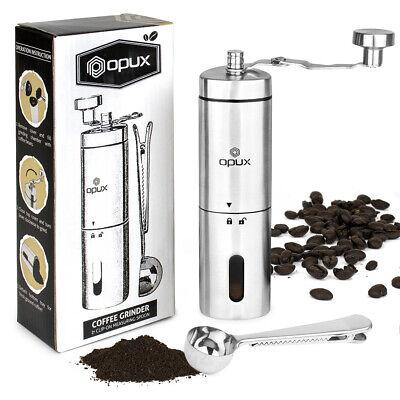 Manual Coffee Grinder | Travel Hand Burr Coffee Bean Grinder