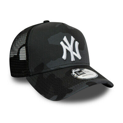 NEW ERA NEW YORK YANKEES TRUCKER CAP.9FORTY CAMO SNAPBACK BASEBALL HAT S20