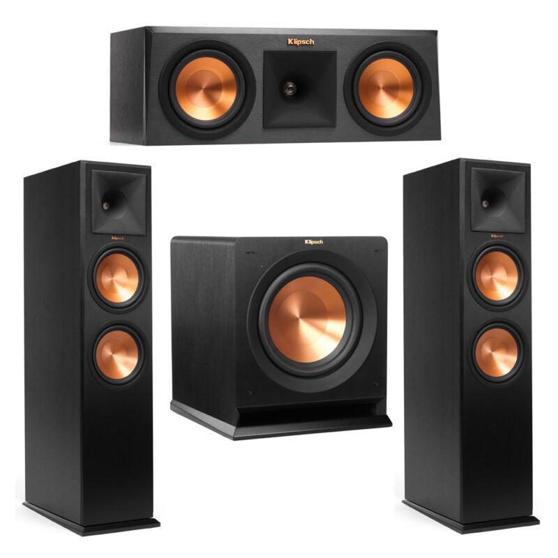 Klipsch 3.1 System With 2 Rp-280f Tower Speakers, 1 Rp-250c Center Speaker, 1 Kl