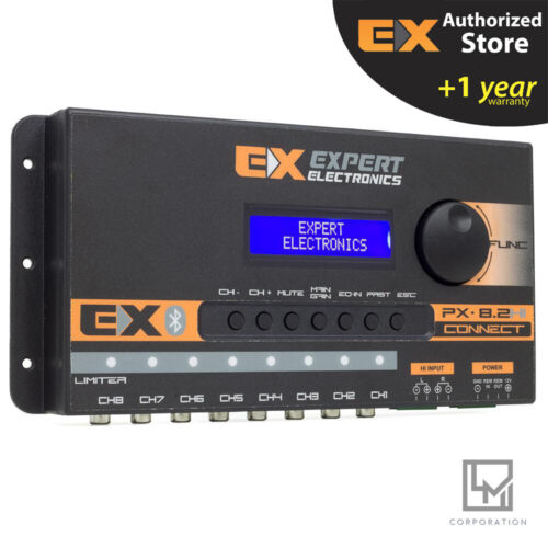 Banda Expert PX8.2 HI Connect Bluetooth 8 Channel Crossover Digital Car Audio