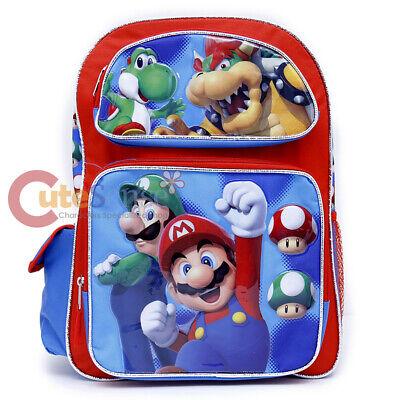 Nintendo Super Mario Grande Escuela Mochila 16