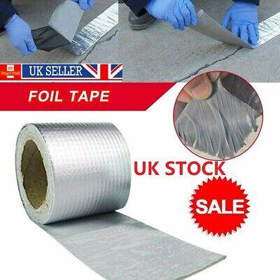 HOT Aluminum Foil Butyl Rubber Tape Adhesive Waterproof Roof Pipe Marine Repair