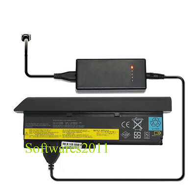 External Laptop Battery Charger For Lenovo ThinkPad X200 Tablet 2263 2266 4184