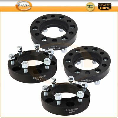 """Full Set 1.25"""" Thick 6x5.5 Hubcentric Wheel Spacers For Toyota Tacoma 2001-2018"""