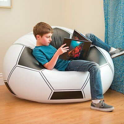 - Pouf Armchair Inflatable Child Ball of Football Puff Niño Lightweight and