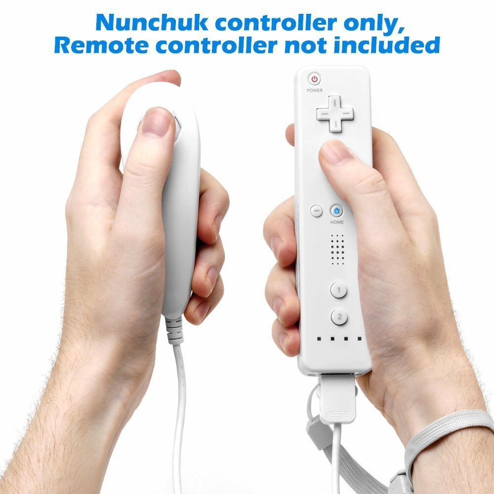 Wii Nunchuck Controller Replacement For U Video Game Console Wire Diagram New Nunchuk Joypad Remote