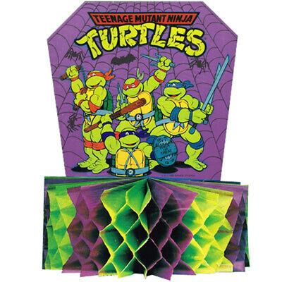 TEENAGE MUTANT NINJA TURTLES VINTAGE HALLOWEEN HONEYCOMB CENTERPIECE - Ninja Turtles Halloween