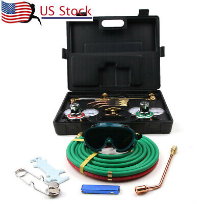 Gas Welding Cutting Tool Kit Victor Type Acetylene Oxygen Torch Set Regulator